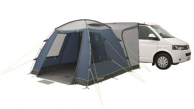 Outwell MILESTONE Drive Away Awning, Campervan Caravan Motorhome Awning - Grasshopper Leisure